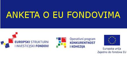 Anketa s ciljem informiranja i educiranja studentske populacije o EU fondovima